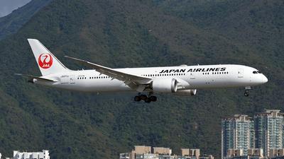 A picture of JA873J - Boeing 7879 Dreamliner - Japan Airlines - © eyey328