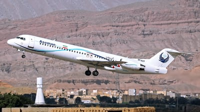 EP-AST - Fokker 100 - Iran Aseman Airlines