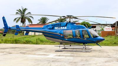 N528AB - Bell 407 - Private
