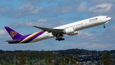 HS-TKV - Boeing 777-3D7ER - Thai Airways International