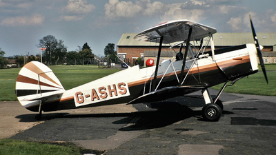G-ASHS - Stampe and Vertongen SV-4C - Private