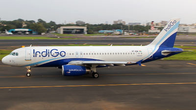 VT-IEW - Airbus A320-232 - IndiGo Airlines