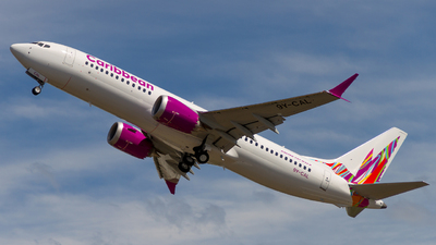 9Y-CAL - Boeing 737-8 MAX - Caribbean Airlines