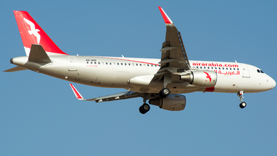 A6-AOP - Airbus A320-214 - Air Arabia