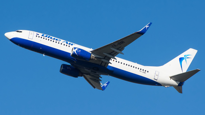 YR-BMI - Boeing 737-8K5 - Blue Air