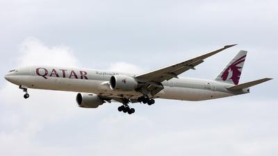 A picture of A7BAQ - Boeing 7773DZ(ER) - Qatar Airways - © Hafit Irawan
