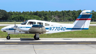 A picture of N7704D - Piper PA44180 Seminole -  - © Gary Guy