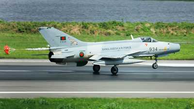 F934 - Chengdu F-7BG - Bangladesh - Air Force