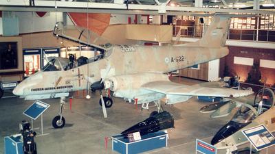 A-522 - FMA IA-58A Pucará - Argentina - Air Force
