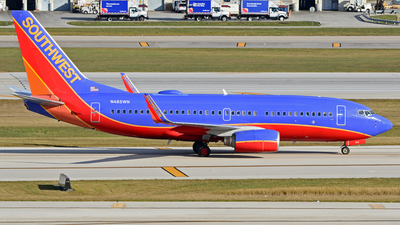 N485WN - Boeing 737-7H4 - Southwest Airlines