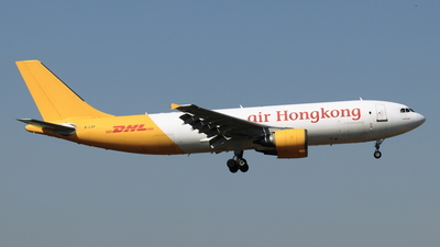 B-LDF - Airbus A300F4-605R - Air Hong Kong