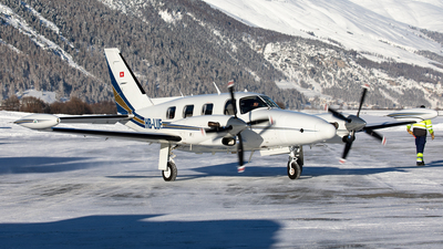 A picture of HBLUF - Piper PA31T Cheyenne - [31T8120015] - © Alexandre Fazan
