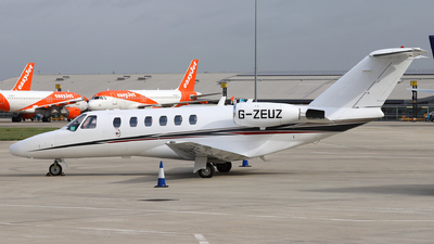 A picture of GZEUZ - Cessna 525A CitationJet CJ2 - Zenith Aviation - © Dave Potter