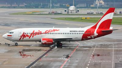 PK-AWO - Boeing 737-322 - Indonesia AirAsia