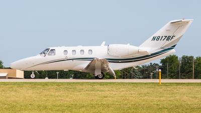 N817BF - Cessna 525 Citation CJ1 - Private