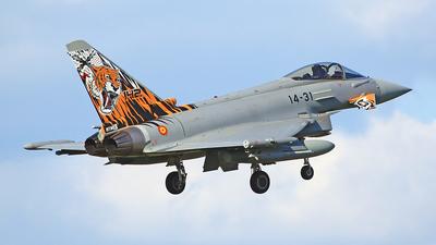 C.16-73 - Eurofighter Typhoon EF2000 - Spain - Air Force