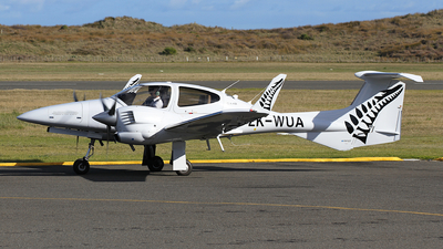 ZK-WUA - Diamond DA-42 Twin Star - New Zealand International Commercial Pilot Academy