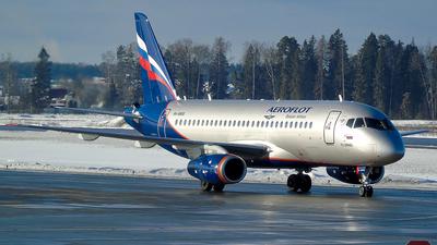 RA-89100 - Sukhoi Superjet 100-95B - Aeroflot