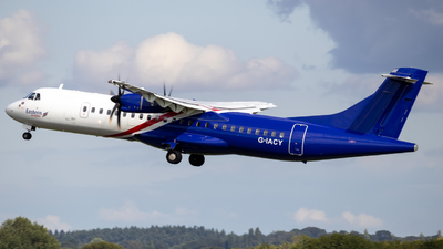 A picture of GIACY - ATR 72600 - Eastern Airways - © S. Oldridge