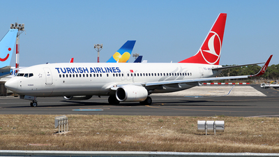 TC-JHV - Boeing 737-8F2 - Turkish Airlines