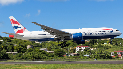 G-VIIR - Boeing 777-236(ER) - British Airways