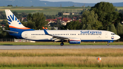 D-ASXJ - Boeing 737-86N - Eurowings (SunExpress Germany)