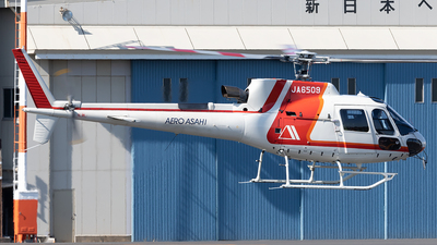 JA6509 - Aérospatiale AS 350B3 Ecureuil - Aero Asahi