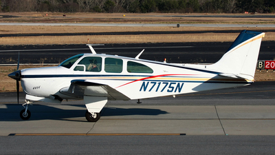 N7175N - Beechcraft E33A Bonanza - Private