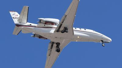 N426JN - Cessna 560XL Citation Excel - Private