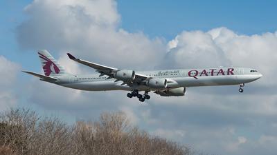A7-AGB - Airbus A340-642 - Qatar Airways
