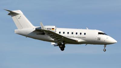 D-AFAI - Bombardier CL-600-2B16 Challenger 604 - FAI Flight-Ambulance