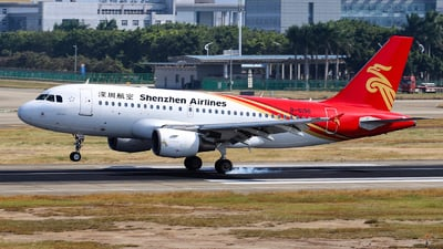 B-6196 - Airbus A319-115 - Shenzhen Airlines