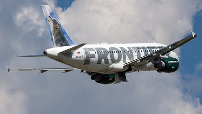 N933FR - Airbus A319-111 - Frontier Airlines