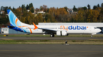 A picture of A6FNA - Boeing 737 MAX 9 - FlyDubai - © PrestonFiedler
