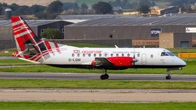 A picture of GLGNI - Saab 340B - Loganair - © Ethan Hew - p_nilly