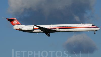 A picture of ISMEM - McDonnell Douglas MD82 - [49248] - © Mattia Longo