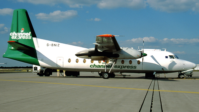 G-BNIZ - Fokker F27-500 Friendship - Channel Express