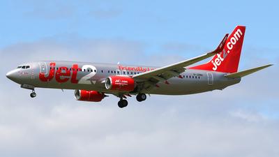 A picture of GJZBA - Boeing 7378MG - Jet2 - © Nigel Fenwick