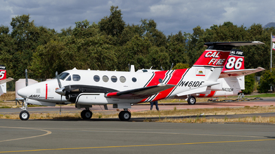 N461DF - Beechcraft A200 Super King Air - United States - California Department of Forestry