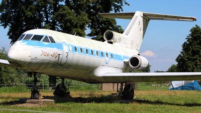 032 - Yakovlev Yak-40 - Poland - Air Force