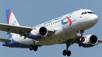 VQ-BTY - Airbus A319-112 - Ural Airlines