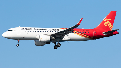 A picture of B1683 - Airbus A320214 - Shenzhen Airlines - © SAGARA