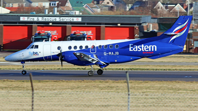 A picture of GMAJB - BAe Jetstream 41 - Eastern Airways - © Rrimestad