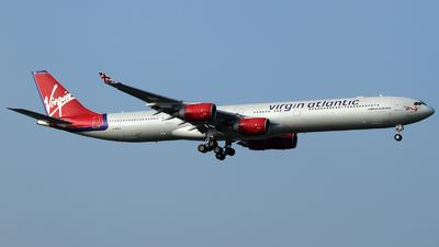 G-VFOX - Airbus A340-642 - Virgin Atlantic Airways