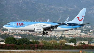 A picture of OOJAV - Boeing 7378K5 - TUI fly - © Fernando Roca