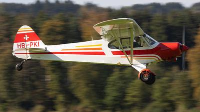 HB-PKI - Piper PA-18-150 Super Cub - Private