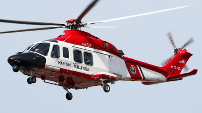 M72-03 - Agusta-Westland AW-139 - Malaysia - Maritime