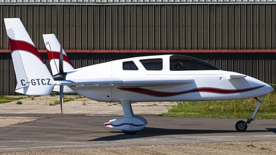 A picture of CGTCZ - Rutan Cozy - [1171] - © CYYCspotter
