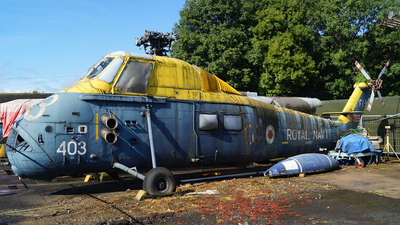 XS887 - Westland Wessex - United Kingdom - Royal Navy