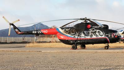 RA-22740 - Mil Mi-8T Hip - Vityaz-Aero
